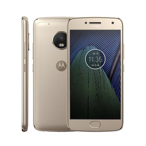 Smartphone Motorola Moto G5 Plus Tv Xt1683 Ouro Com 32gb Tela 5 2