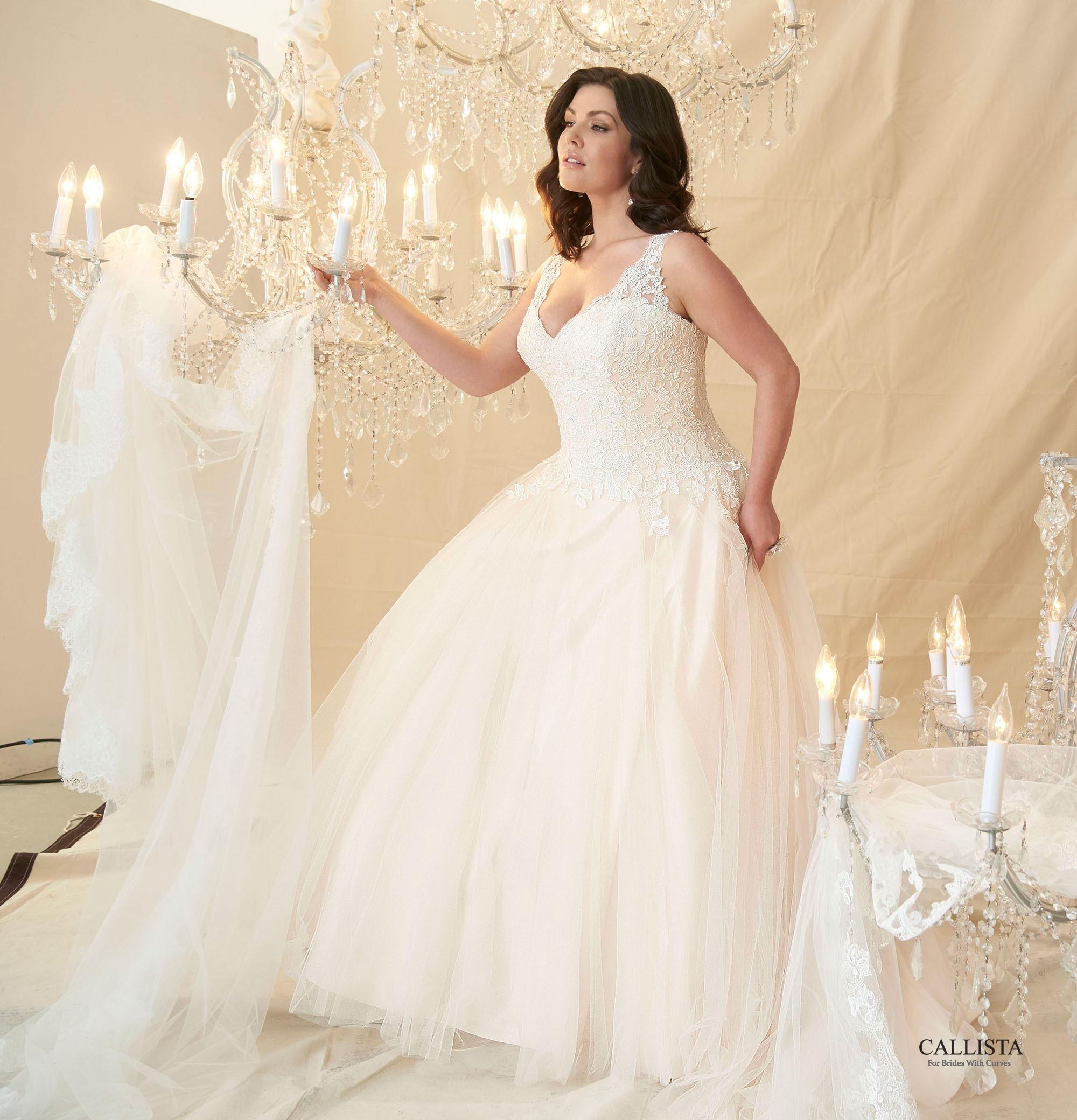 Cezanne | Callista Plus Size Wedding Dresses: Prinzessin & Ball Gown ...
