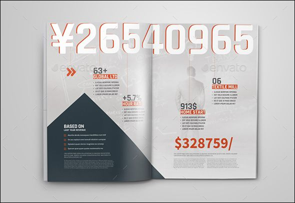 100 Free Business Brochure Photoshop Design Templates Business