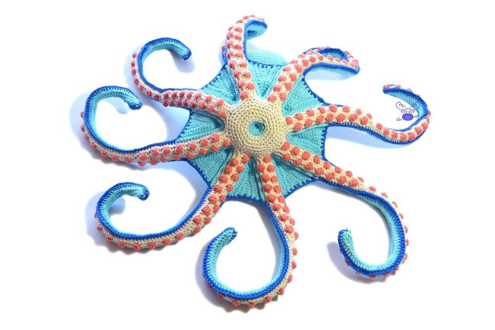 Claude the Octopus Crochet pattern by Patchwork Moose
