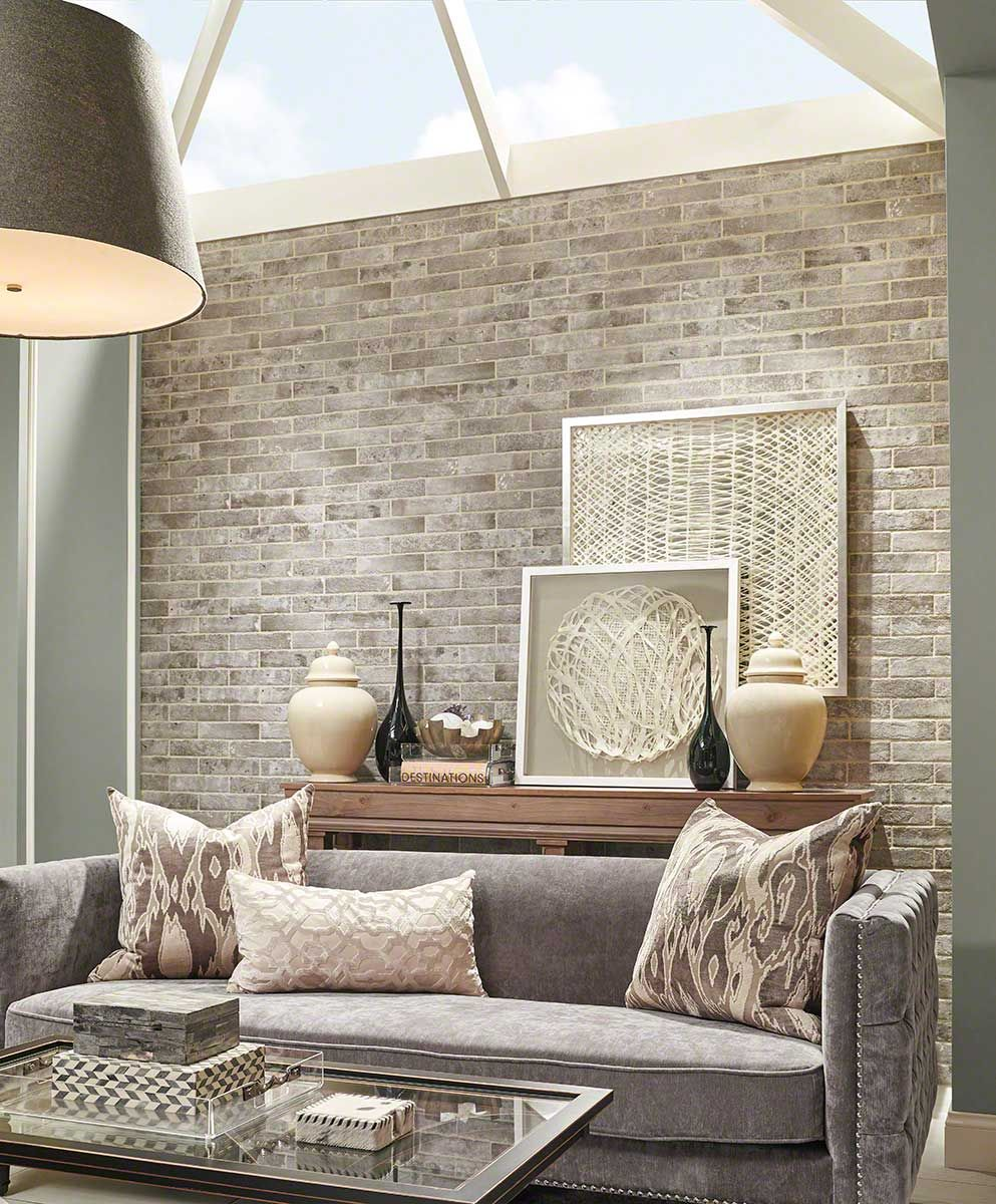 There's nothing better than exposed brick and natural