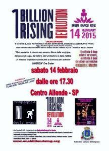 One Billion Rising Revolution sabato 14 al Centro Allende