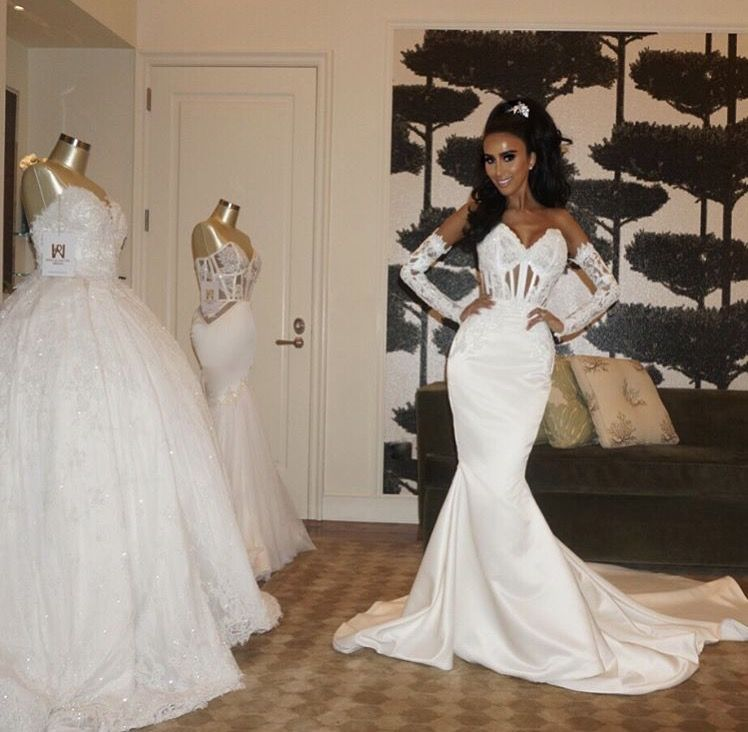 Ryan And Walter Bridal Gown Made For Lily Ghalichi