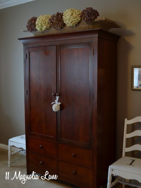 Bon Master Bedroom Cherry Armoire Wardrobe