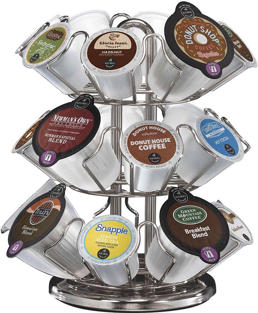 Keurig 20 carousel silver keurig keurig coffee