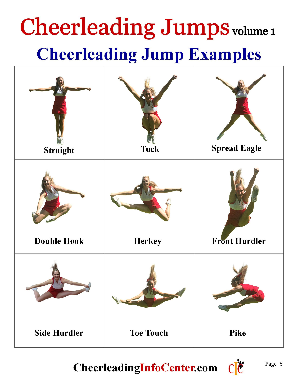 Cheerleading Jumps Ebook Cheerleading Coach Cheerl