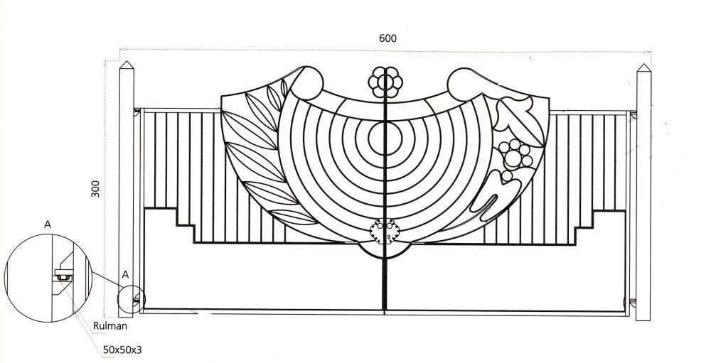 portail en fer forg style art d co le grand catalogue porte en fer forg portail en fer. Black Bedroom Furniture Sets. Home Design Ideas