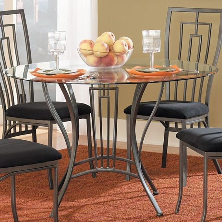 تصاميم طاولات وكراسي حديدية لغرف الطعامتصميم جديد لطاولات الطعام المصنوعة من الحديد مع كراسي من الحديد في العديد من الأنماط Moveis De Aco Mesa De Aco Decoracao