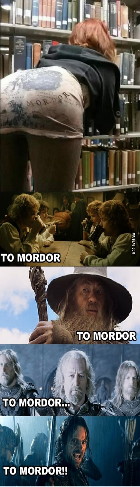 Next stop, Mordor