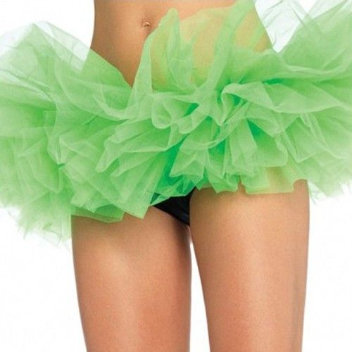 Wholesale Green Adult New Dancing Tutu Multi Layered Organza Lace Up Mini Skirt Club Dress