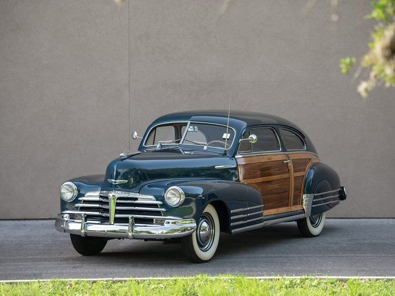 1948 Chevrolet Fleetline Aerosedan Country Club Chevrolet