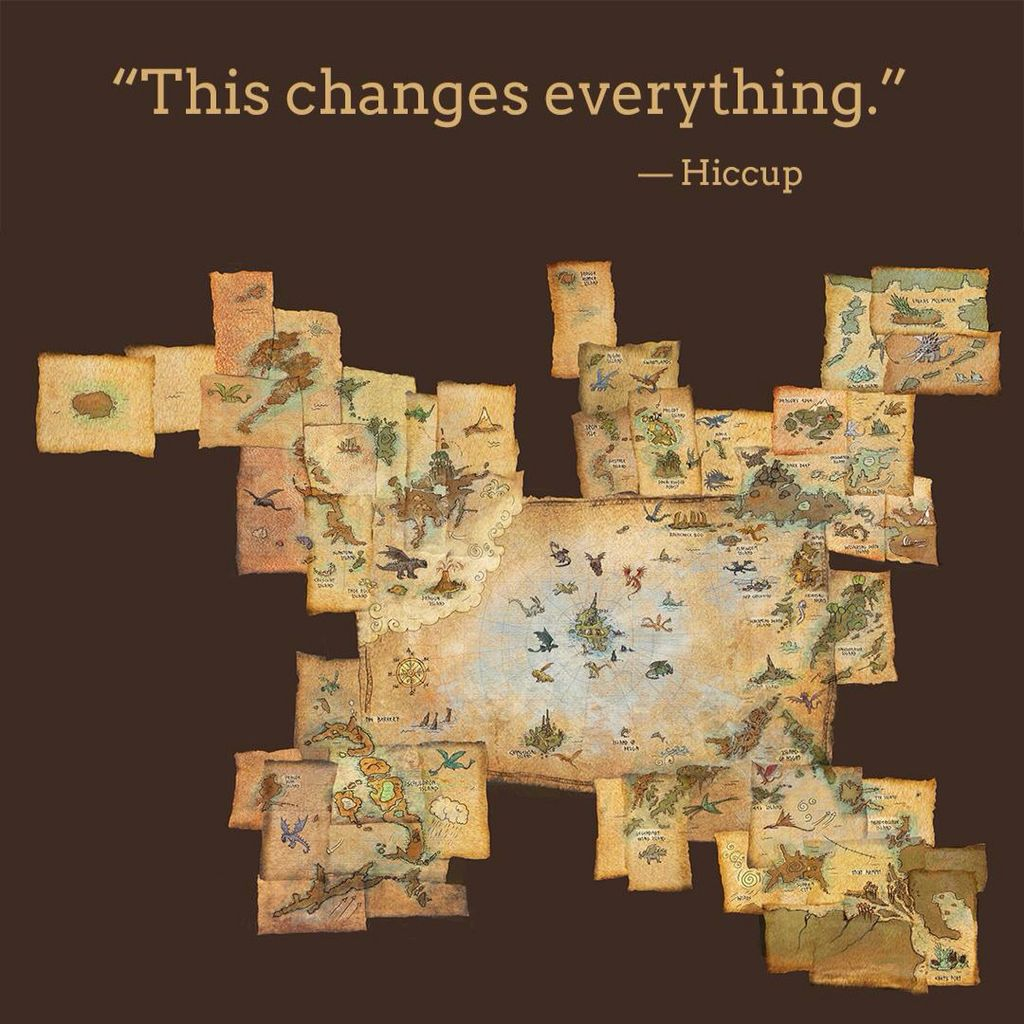 1/4 - Hiccups Map ... This changes everything