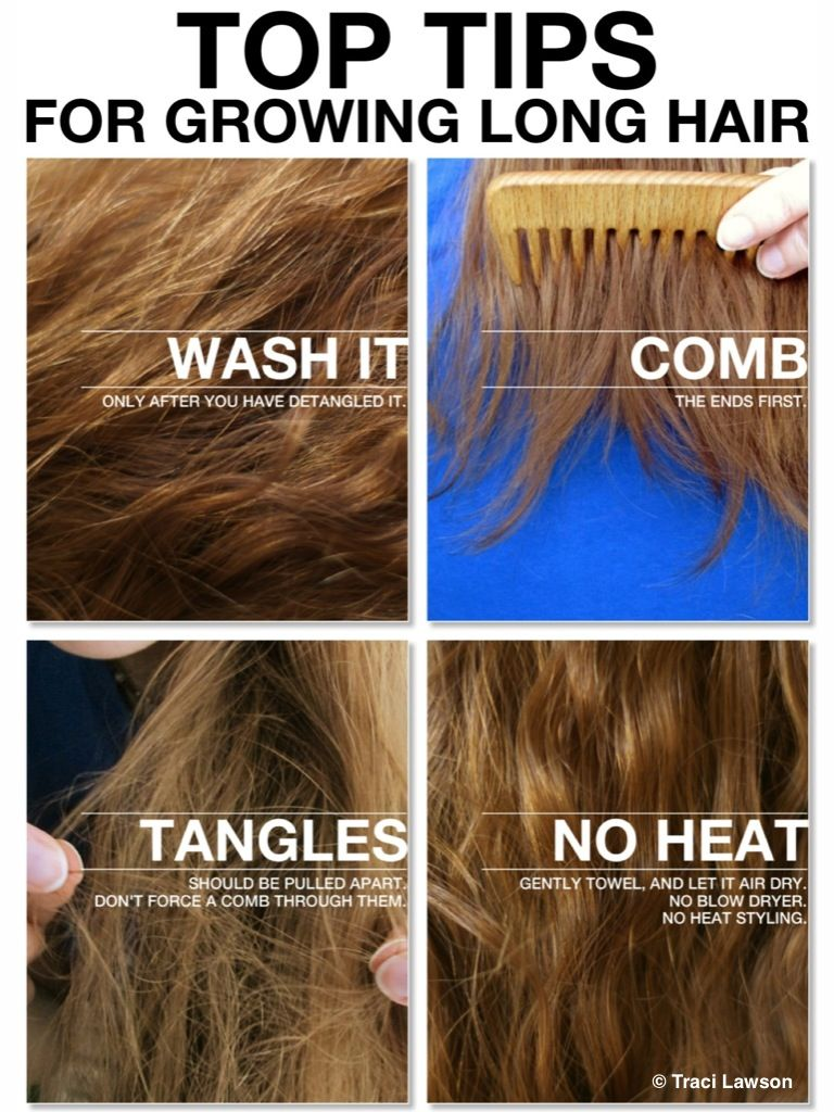 ♥Tips and Tricks for growing out your hair!♥ | Tutorials ...