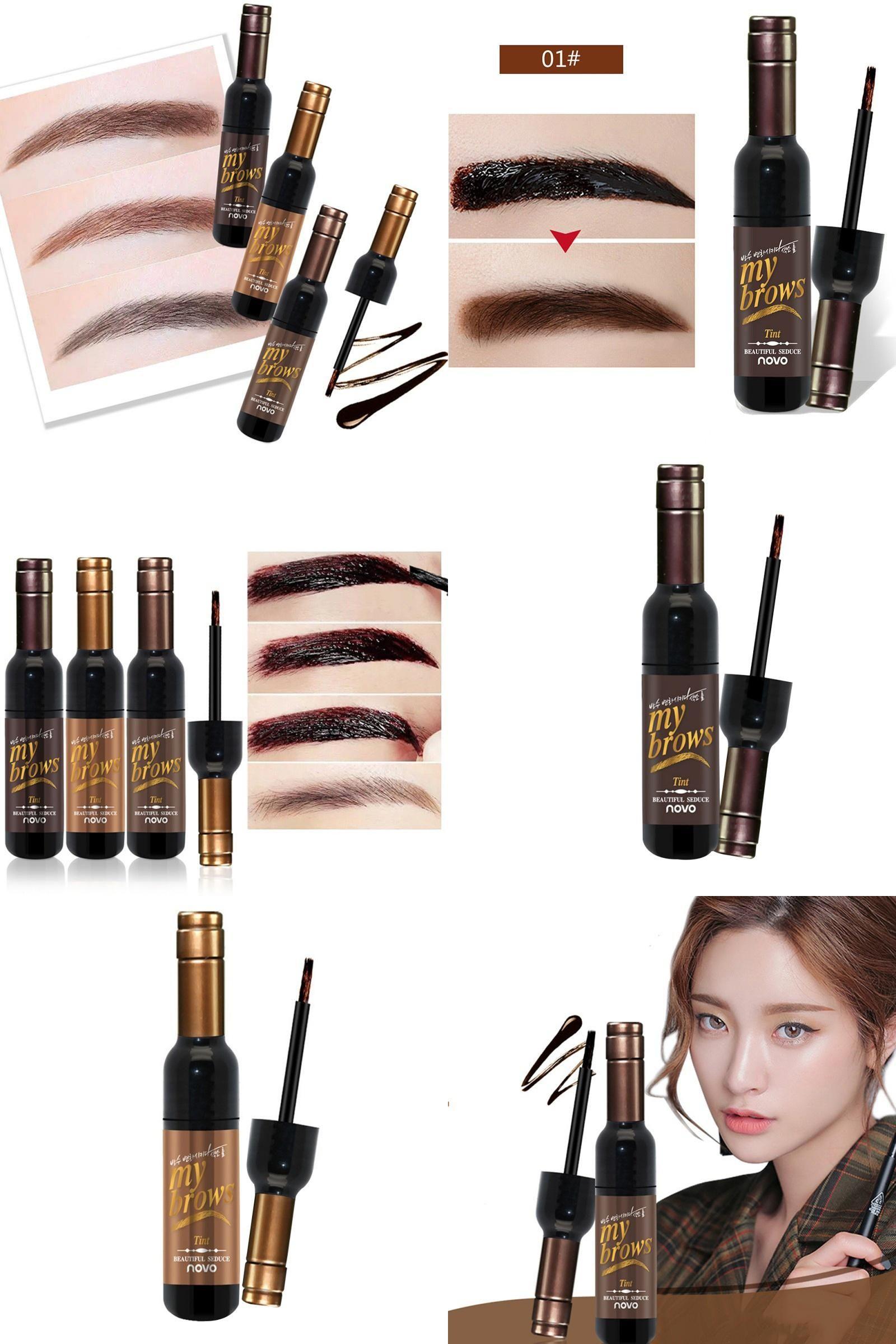[Visit to Buy] Eye Brow Makeup 3D Peel Off Eyebrow Gel
