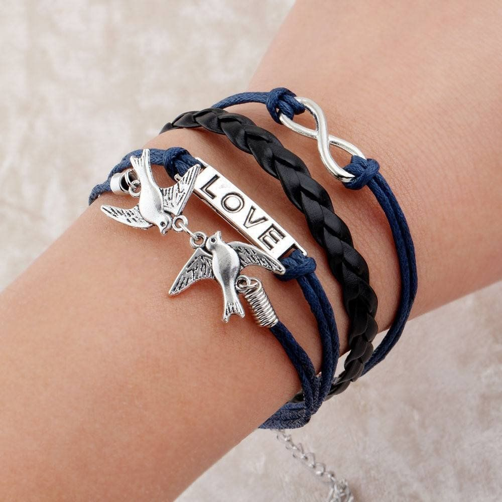 Sparrow wrap bracelet support small business and products