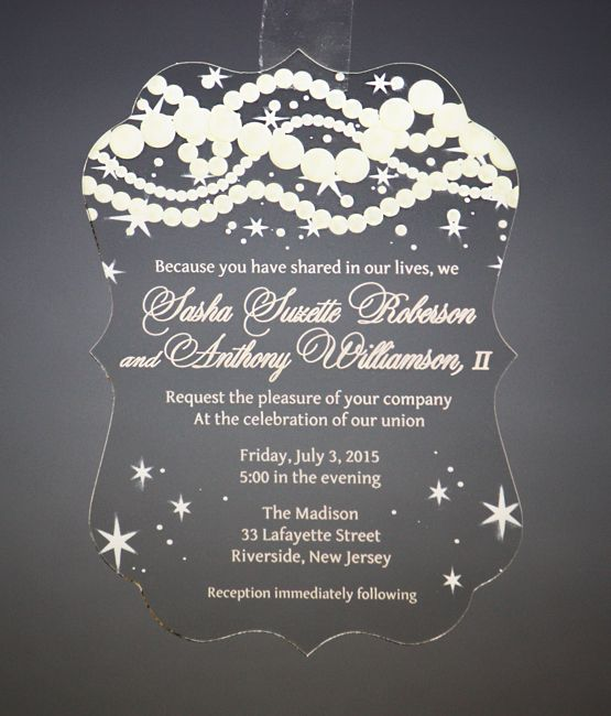 Decorative Wedding Invitation Badge 7: An Elegant Invitation Fit For A Princess, Complete With