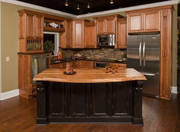 Honey Oak Kitchen Cabinets The Low End Option Classic Honey Oak Not