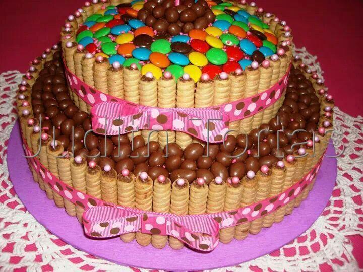 Torta de Golosinas Facebook : Duls