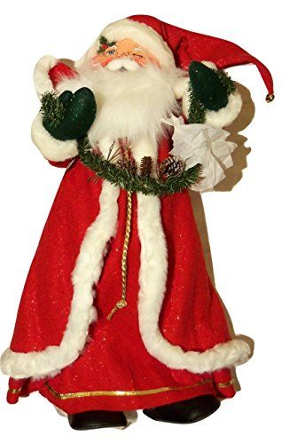 "Annalee Large Santa Claus Classic 30"". #SantaClaus #Santa #Claus #Christmas  #Figurine #Decor #Gift #gosstudio .★ We recommend Gift Shop: http://www.zazzle.com/vintagestylestudio ★"