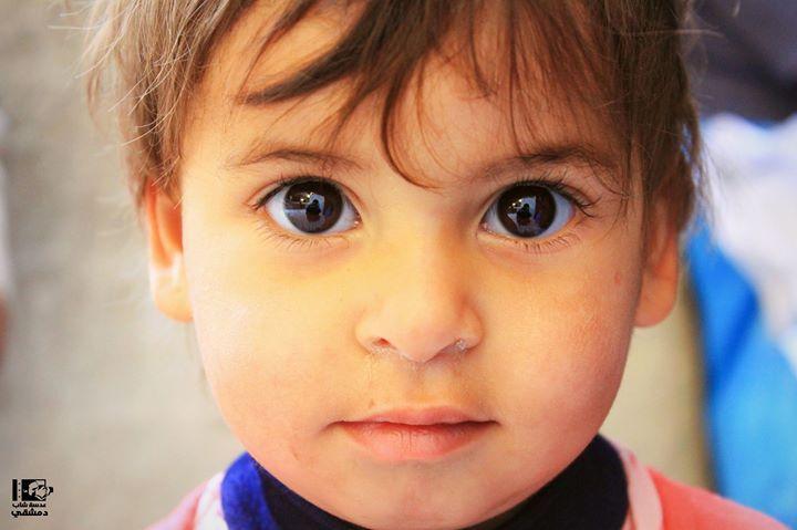 إن العيون التي في طرفها حور صباح البراءة والطفولة من التل التل في 22 4 2016 Altall On 22 4 2016 Baby Face Photo Children