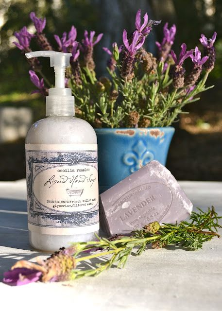 Homemade liquid hand soap. Looks easy. I would use a fancy vegetarian soap from L´Occitane