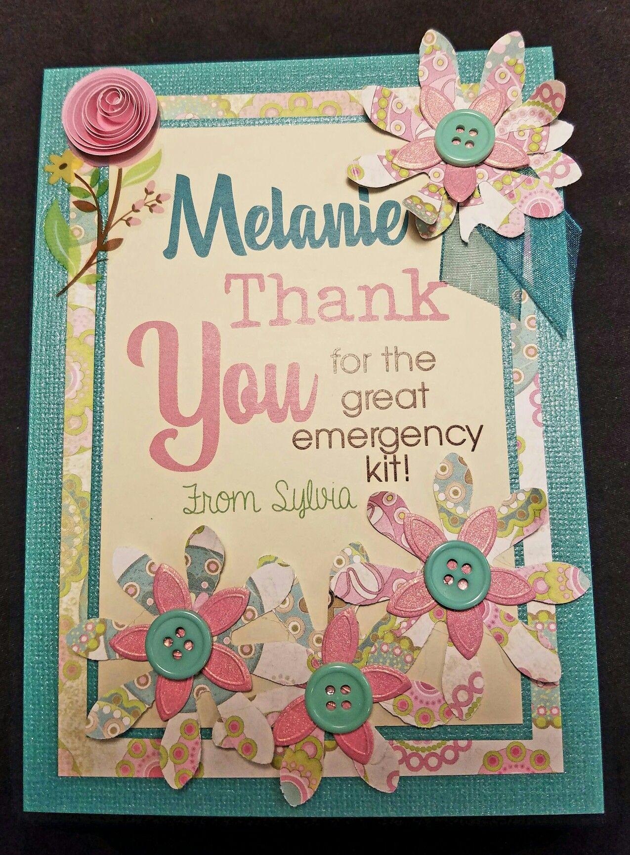 handmade thank you card  handmade thank you cards thank