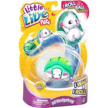 Little Live Pets S1 Hedgehog Single Sally Seeds