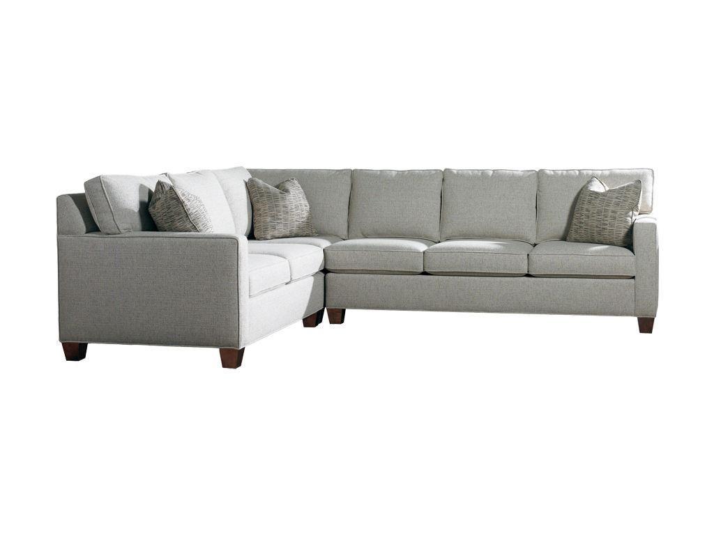 sherrill furniture living room sectional 3100 sect louis shanks rh pinterest com