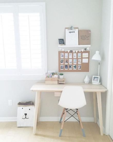 64 Ideas Bedroom Ideas For Small Rooms For Girls Simple Desk Areas Bedroom Desk Decor Home Office Decor Small Room Bedroom Teenage bedroom desk ideas