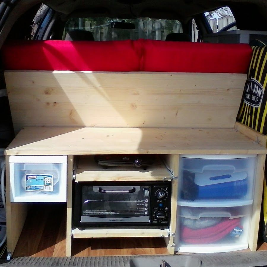 3 5 Day Home Made Stealth Minivan Conversion