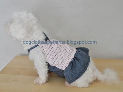Modern Free Dog Dress Patterns To Sew Photo - Knitting Pattern Ideas ...