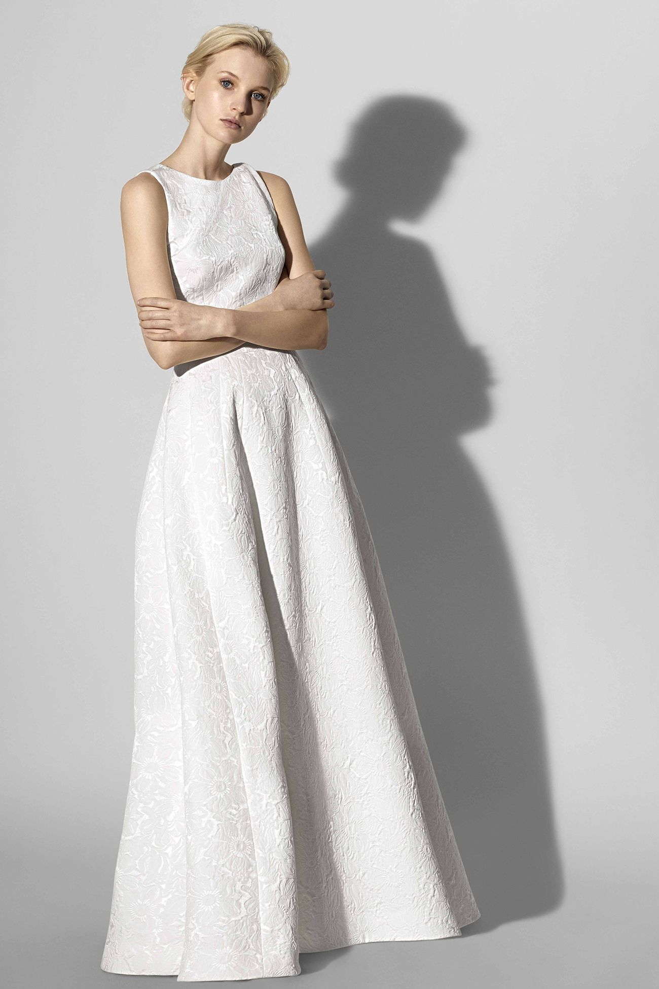 Carolina herrera spring look couture wedding gowns