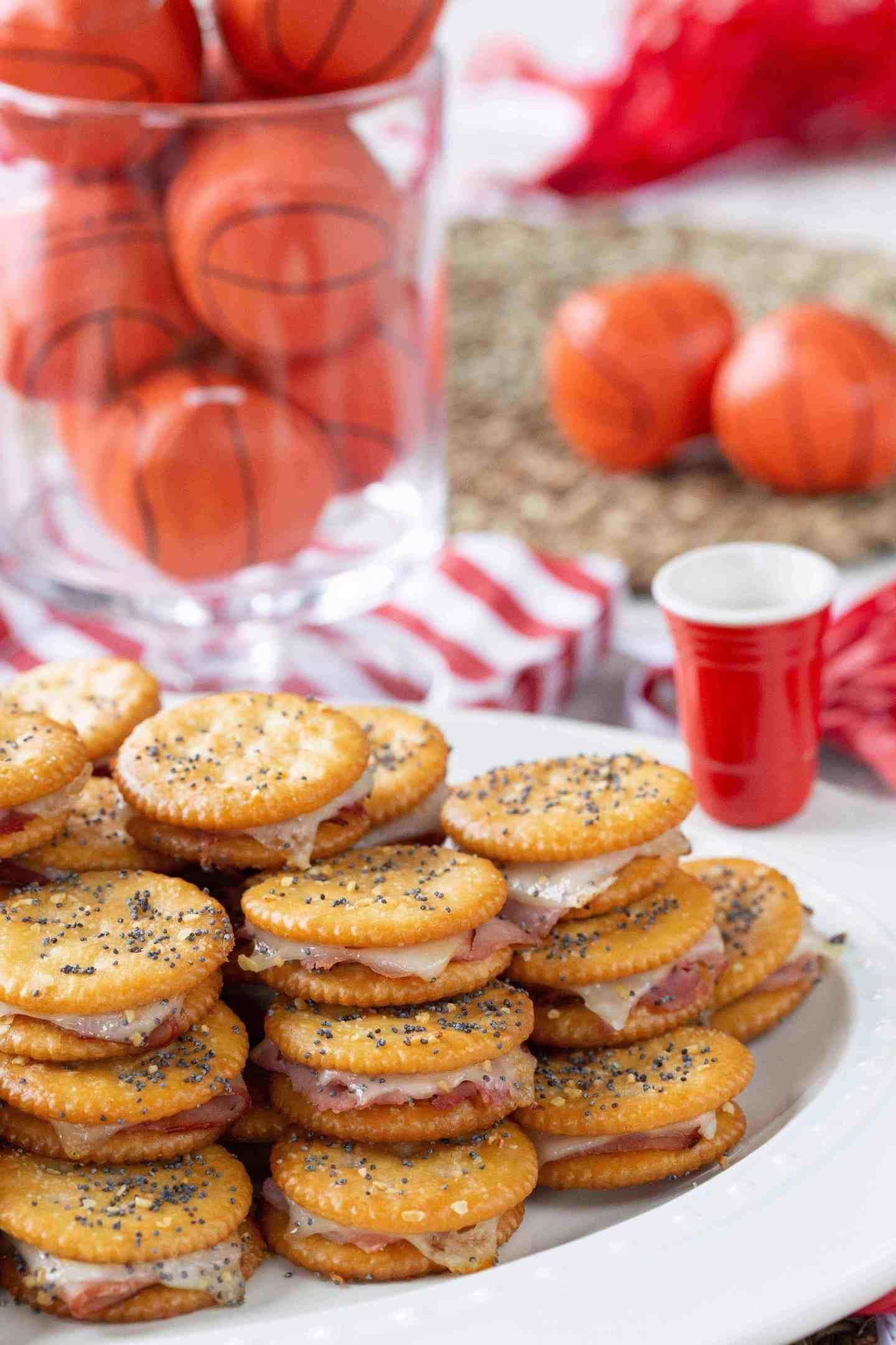 RITZ® Crackers Party Sandwiches #appetizersforparty