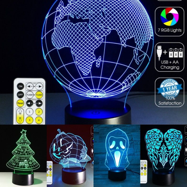 3d Illusion Led Lamps Lamp 3d Illusion Lamp Led Lamp