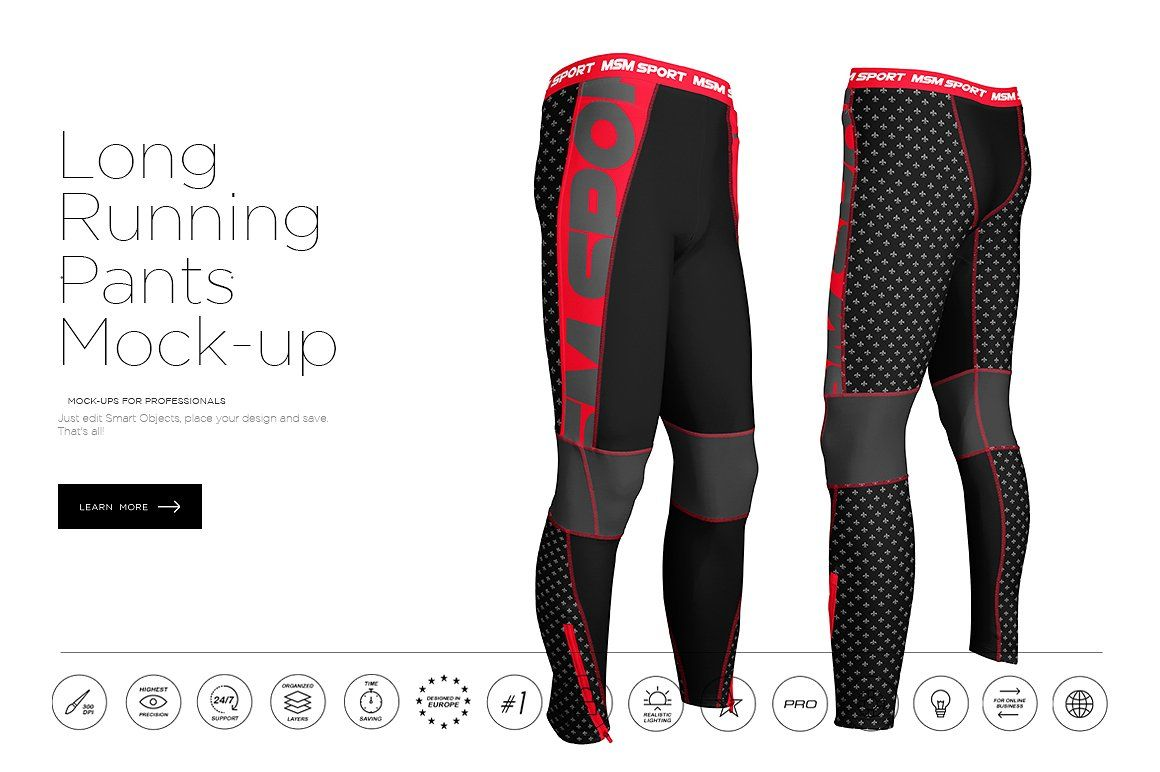 Download Long Running Pants Mock Up Long Running Pants Running Pants Mockup Free Psd