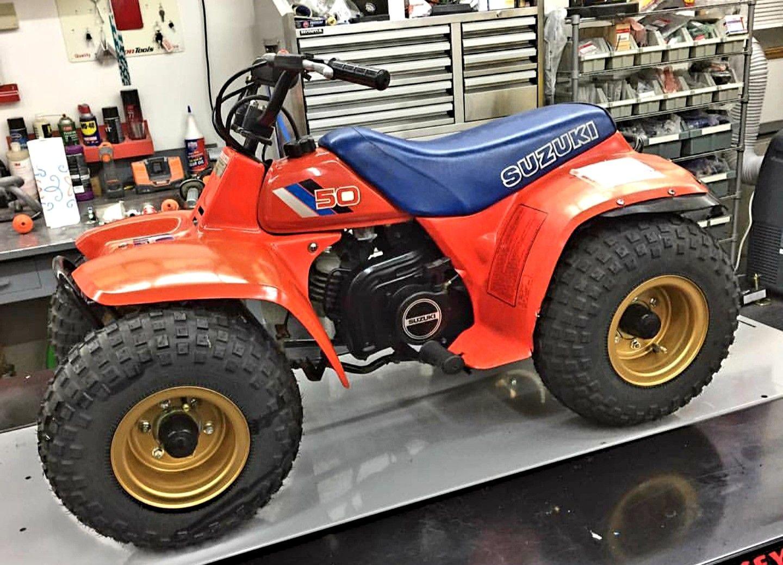 1986 Suzuki Lt50 Suzuki Bikes Suzuki All Terrain Vehicles