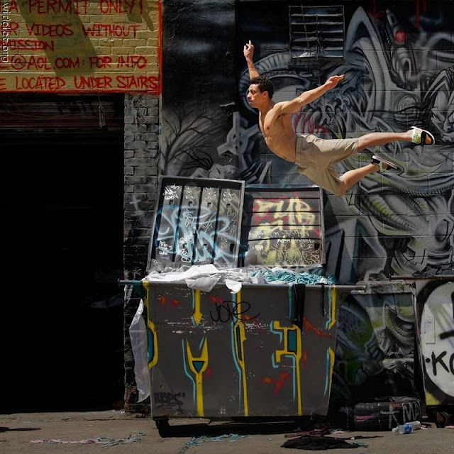 NYC. Flying over the real world (II)... New York City Ballet