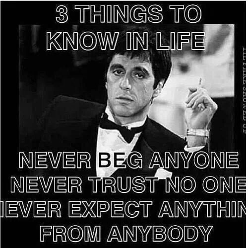 Pin By Prabhi Pilot On Sayingsandfacts Quotes Scarface Quotes Godfather Quotes Gangster Quotes