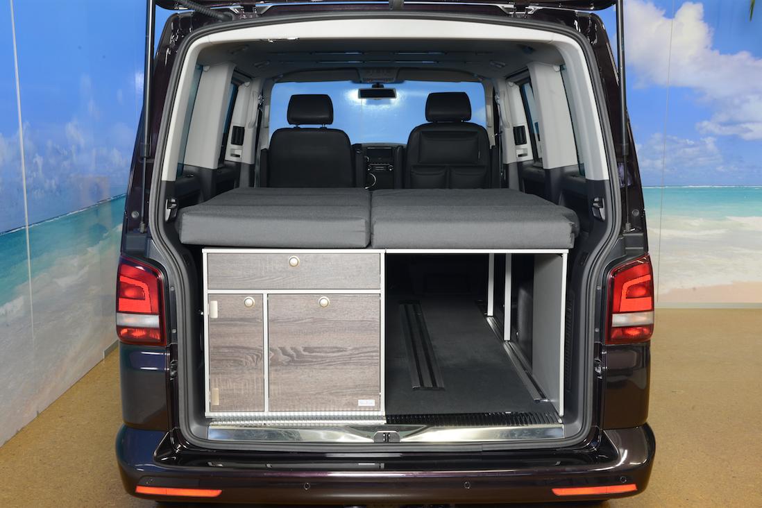 biker bed vw multivan sleep system single bed with. Black Bedroom Furniture Sets. Home Design Ideas