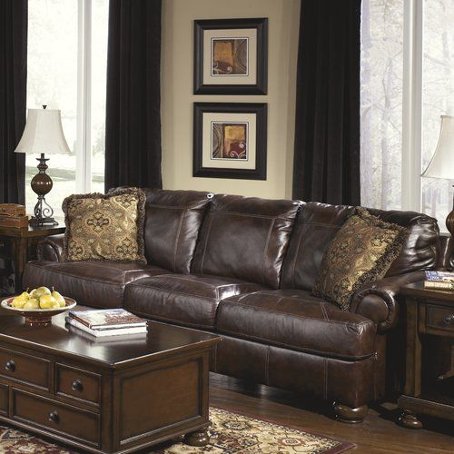 Found It At Wayfair Bannister Leather Sofa Living Room Leather Leather Furniture Brown Living Room Decor