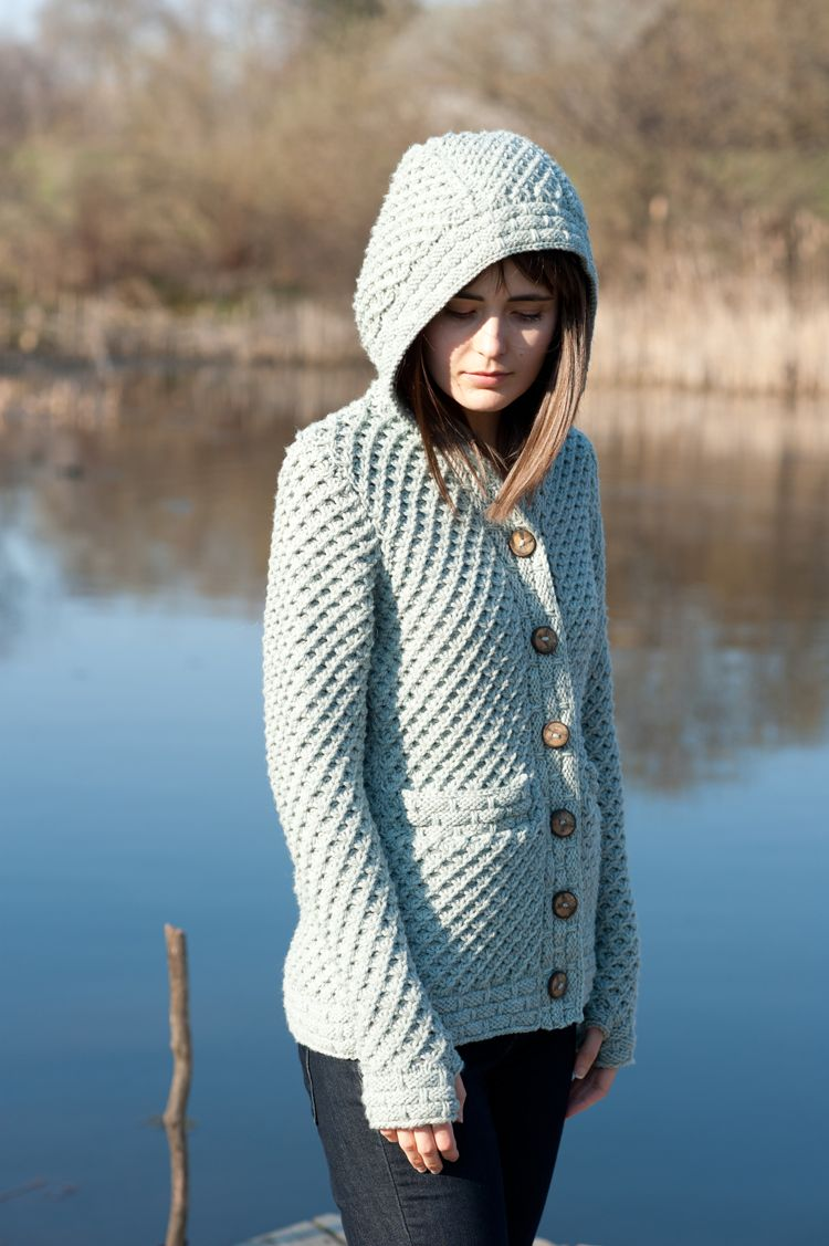tundra cardigan by kristen tendyke / quince & co. osprey | Knitting ...