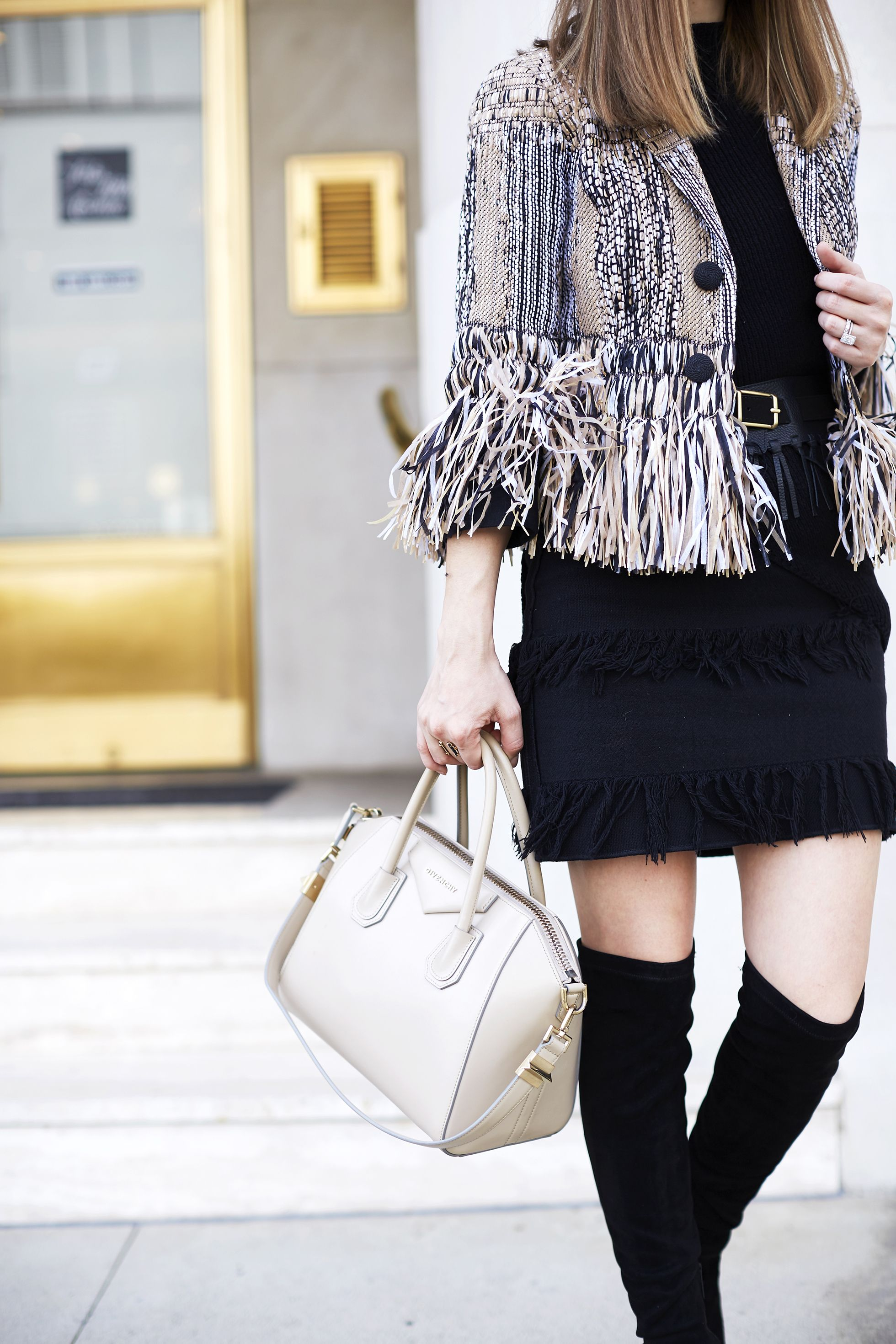 Over-the-knee boot outfit inspiration // Jenny of Margo & Me