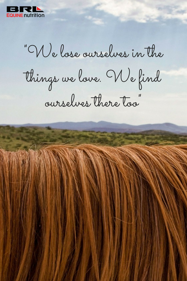 """We lose ourselves in the things we love we find ourselves there too"""