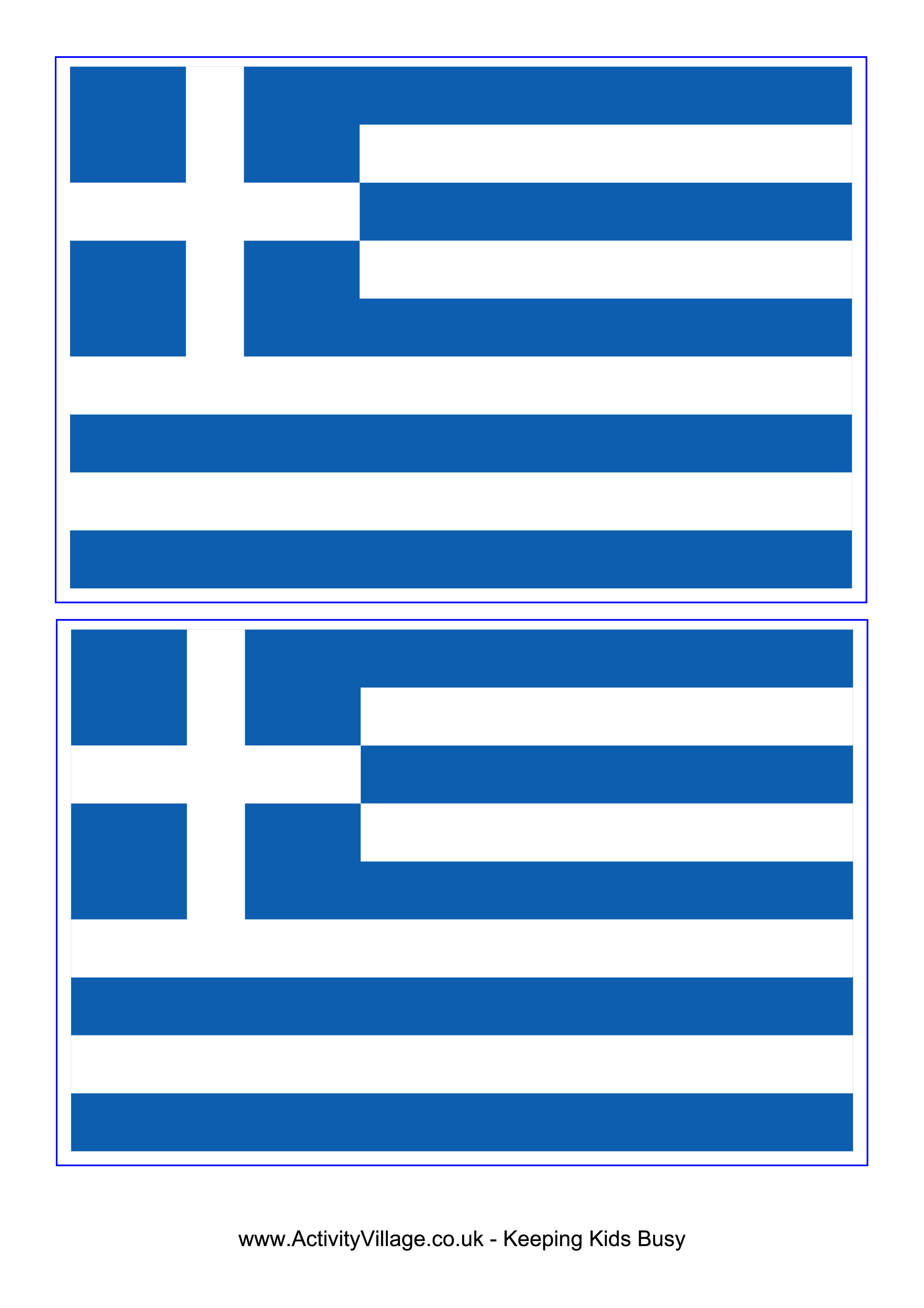 picture relating to Printable Flag identified as Flag Greece - Absolutely free Printable Flag Greece Greece Greece