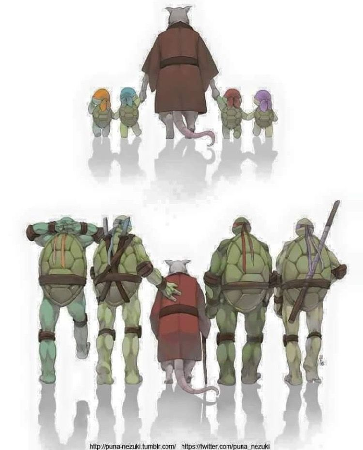 Growing Up Teenage Mutant Ninja Turtles Artwork Teenage Mutant Ninja Turtles Art Tmnt