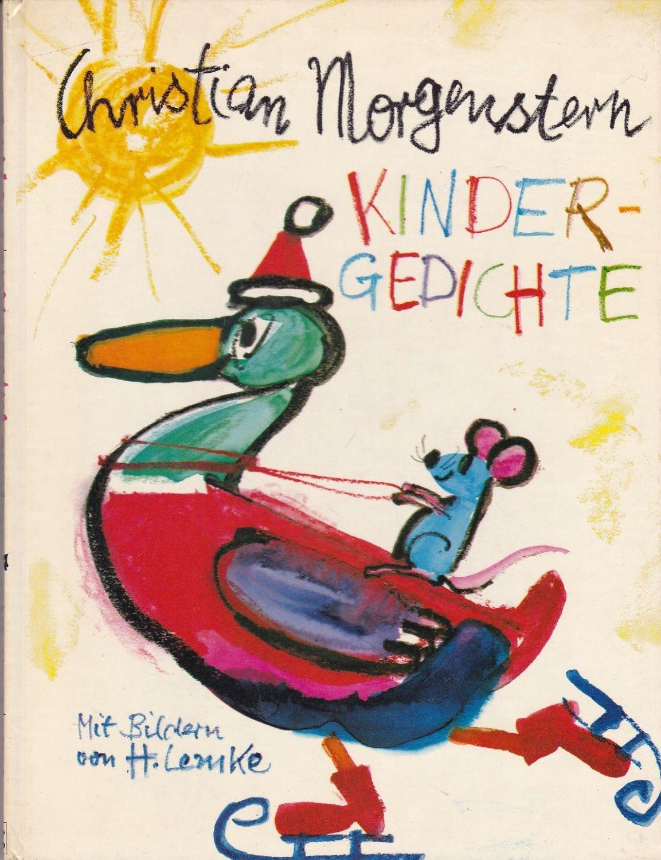 Kindergedichte Christian Morgenstern Buch Gebraucht Kaufen A02hlh6x01zzx Kinder Gedichte Kindergedichte Buchzeichnung