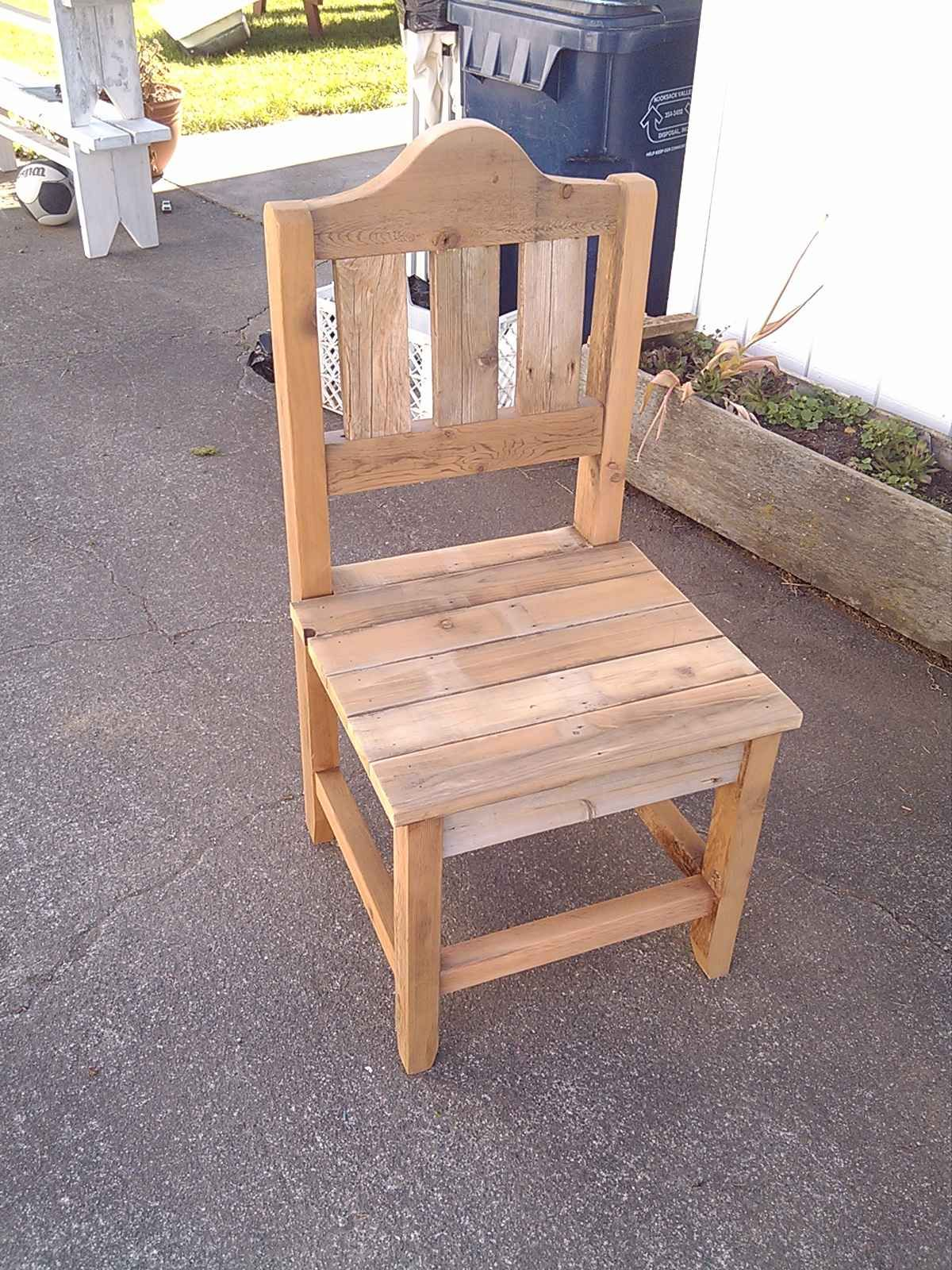 Farmhouse chair plans with free furniture plans to build a