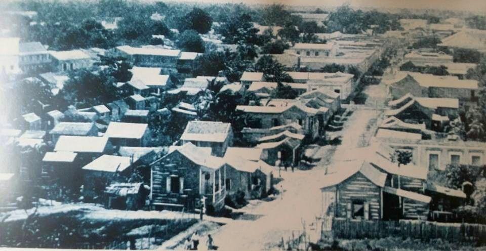 Vista panorámica de Ponce desde El Vigía. Ponce, Puerto Rico. Principios del Siglo 20.