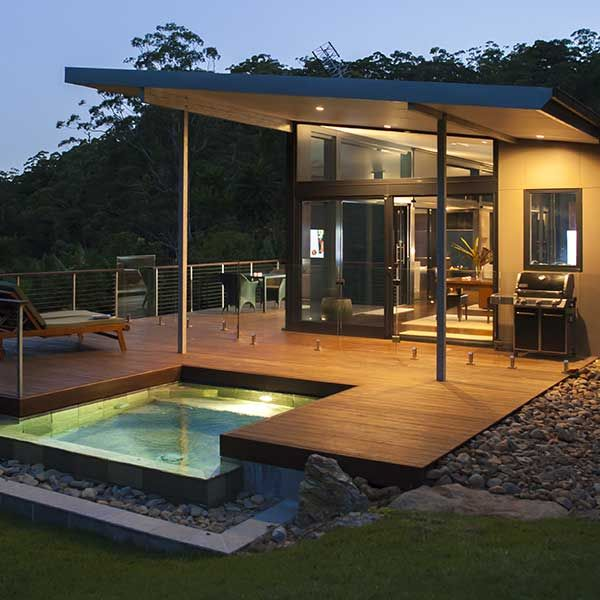 Luxury couples only romantic retreat close to Byron Bay