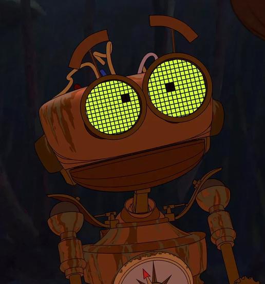 B.E.N. Treasure Treasure island characters